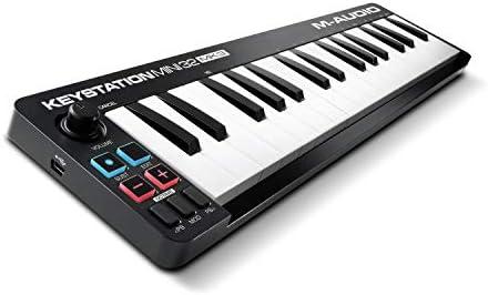 M Audio Keystation Mini 32 MK3 Ultra Portable Mini USB MIDI Keyboard Controller With ProTools product image