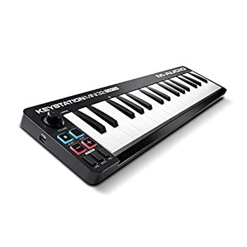 M Audio Keystation Mini 32 MK3 - Ultra Portable Mini USB MIDI Keyboard Controller With ProTools First M Audio Edition and Xpand 2 by Air Music Tech
