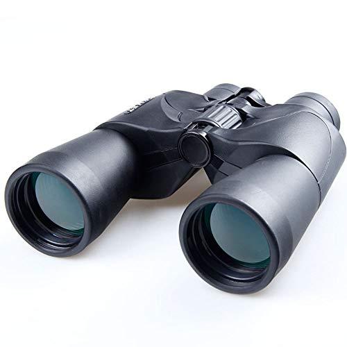DKEE Binoculares Binoculares con Visión Nocturna De Gran Aumento HD for Cazar Y Pescar Acampar/Caminar/Observar Aves Fácil De Llevar Negro (Color : Black)