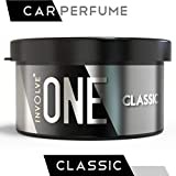 Involve Your Senses ONE Classic Scent Organic Car Perfume | Arabic Oudh Style Enchanting Fiber Air Freshener - IONE05