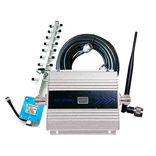 Kaxofang DCS1800MHz Alta Frecuencia MóVil Unicom Amplificador de SeeAl de TeléFono MóVil 2G 4G Amplificador de SeeAl de Llamada-Enchufe de la UE