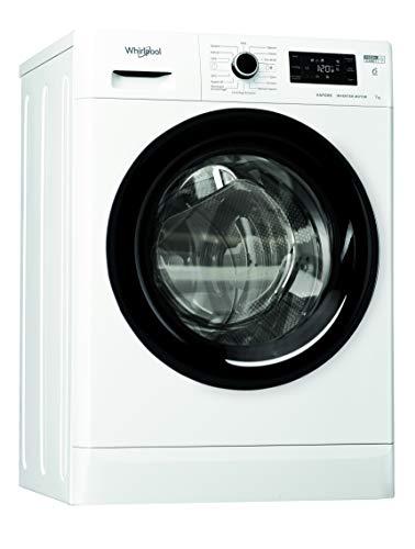 Whirlpool FSR 327BV BS IT N, Lavatrice Slim a Carica Frontale a Libera Installazione, 7kg, D, 1200 GIRI MIN