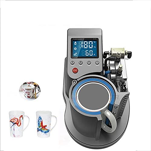 HYTC 110 Taza De Impresión De Prensa De Calor Neumático Prensa Térmica De Calor Taza De Máquina De Transferencia De Calor Prensa De Calor Mug-Gris