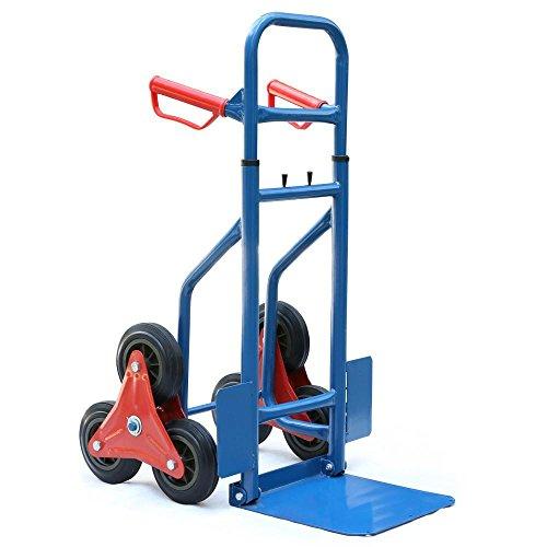Yaheetech Handy 200kg Heavy Duty Stair Climbing Truck Sack Truck Trolley Transport Climbing Stair Climber Cart