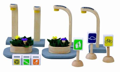 PlanToys - PT6232 - Jouet en bois - Véhicule - Mobilier Eco Urbain