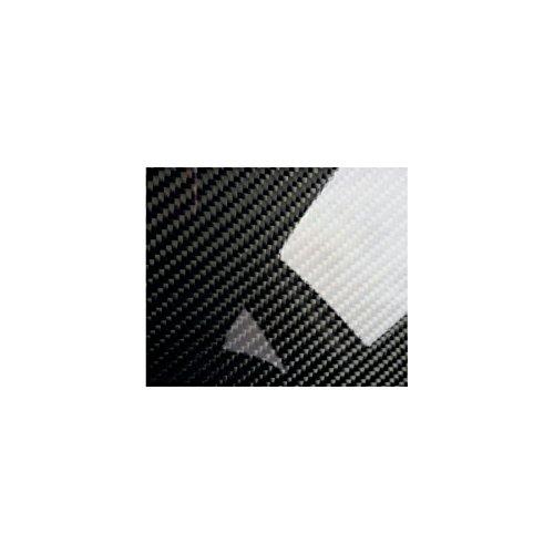 WrapWorkers Series Vinilo Carbono Negro Brillo Premium 200x152cm (Techo Completo)