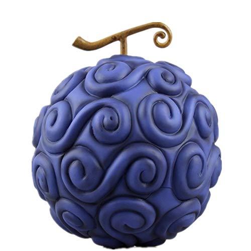 From HandMade One Piece Figur Teufelsfrucht Abbildung Brennen Obst & Rubber Obst Figur Action-Figur (Color : Gummi-Frucht)