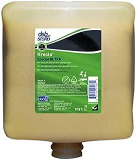 KSP2LT Deb Group 2 Liter Refill White Kresto Special ULTRA Solvent Scented Heavy Duty Hand Cleanser
