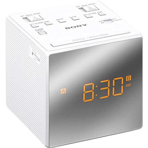 Sony ICF-C1TW Uhrenradio mit LED-Display, weiß