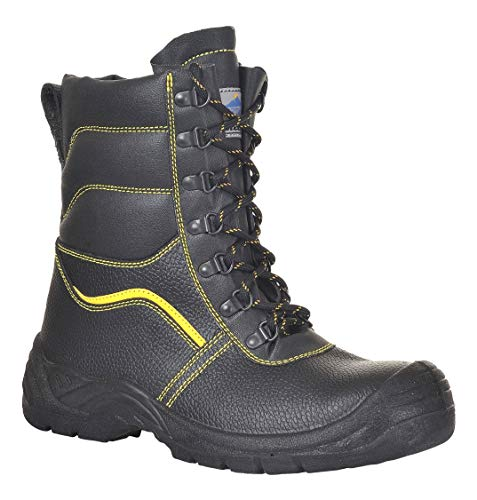 Portwest FW05 - Furlined S3 Bota 43/9, color Negro, talla 43