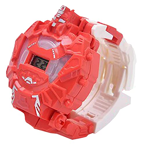 Benxin Kinder Uhr Verformung, Roboter Action Transformation Armbanduhr Spielzeug...
