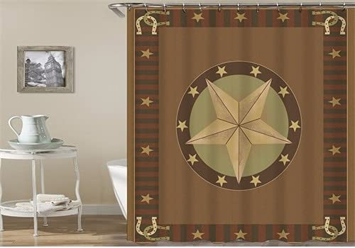 Cortina de Ducha de baño, Tela de Cortina Colorida, Cortina de Tela Impermeable, decoración de baño de Estilo Bohemio S.6 150x200cm