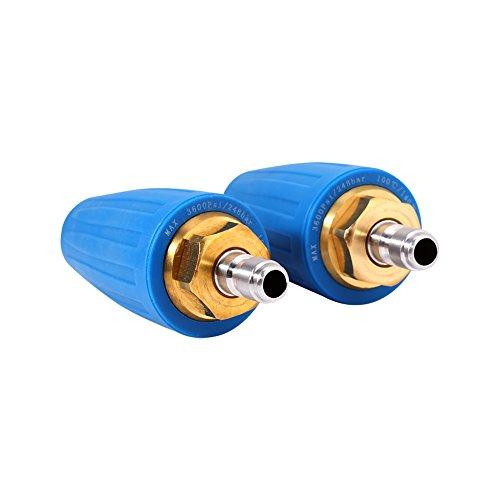 Potente ugello rotante, ugello turbo per idropulitrice resistente all'alta pressione da 1/4' resistente all'usura da 4.0 GPM, per idropulitrice industriale