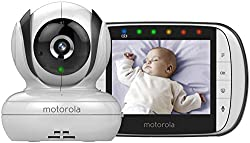 Features 3.5 Inch colour TFT LCD display with 320 x 240 resolution Motorised pan, tilt and digital zoom comes with 300 degrees viewing angle Infrared night vision technology; portable parent unit Two-way audio communication Choose from a choice of pr...