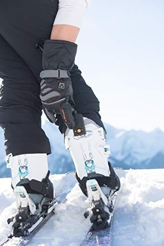 Alpenheat Beheizter Ski Snowboard oder Motorradhandschuh - 7