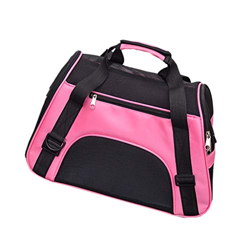 haninetrosty Breathable Pet Carrier Soft Sided Small Large Cat Dog Comfort Travel Bag Approve
