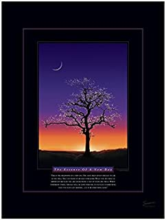 Successories 732209 The Essence of A New Day Motivational Unmatted & Unframed Poster