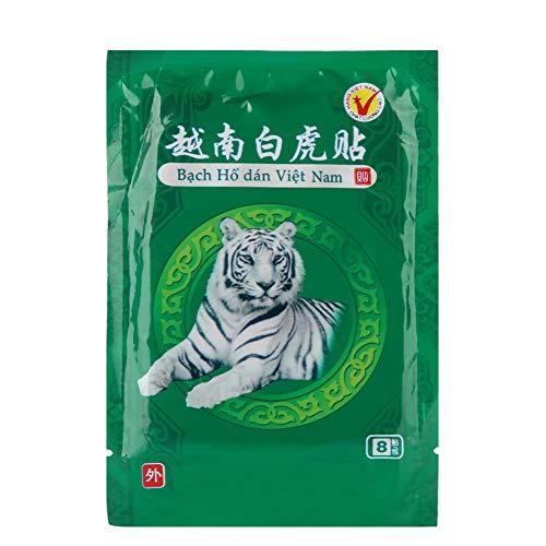 40 pcs Schmerzlinderung Patch, White Tiger Balm Pflaster Pain Relief Patch schmerzlinderndes Pflaster Wärmepackung für Knie- und Gelenkschmerzlinderung und Muskelentspannung