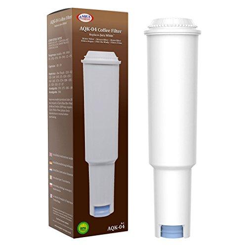 AquaCrest AQK-04 Compatibel koffiezetapparaat waterfilter vervanging voor Jura Claris White 60209, 68739, 62911 - inclusief verschillende modellen van Nespresso, Capresso, Impressa, Avantgarde
