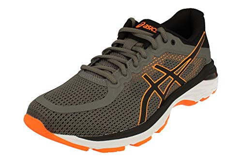 Asics Gel-Pursue 4 Hombre Running Trainers T809N Sneakers Zapatos (UK 6 US 7 EU 40, Carbon Black 020)