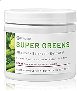 It Works ! Super Greens, Berry Flavor