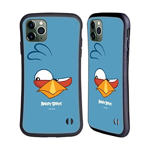 Head Hülle Designs Offiziell Offizielle Angry Birds Blues Volles Gesicht Hybride Handyhülle Hülle Huelle kompatibel mit Apple iPhone 11 Pro Max