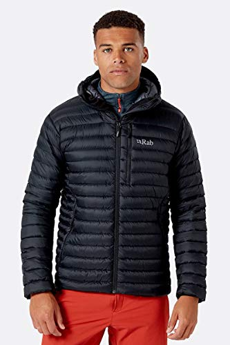 RAB Microlight Alpine Jacket - Men's Black Medium