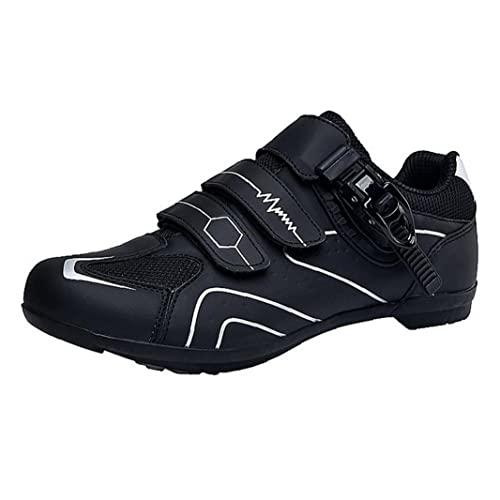Zapatillas de ciclismo No resbaladizo Spinning Touring Shoes para MTB Bicicleta Tamaño44 1pair