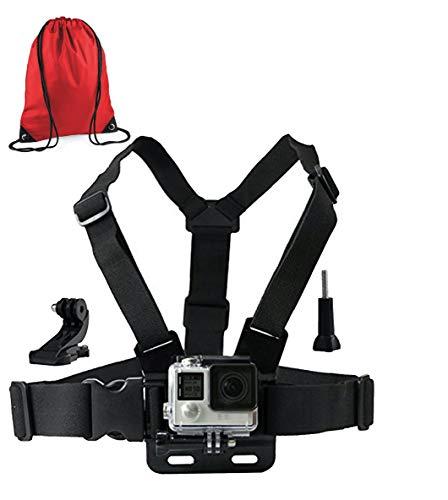 LONDON FAB Compatibile con GoPro e Tutte Le Action Cam, Imbracatura Action Camera...