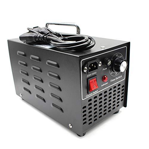 160W Generador de ozono Purificador de Aire de ozono 10000mG / H con Temporizador para la desinfección del esterilizador para automóviles