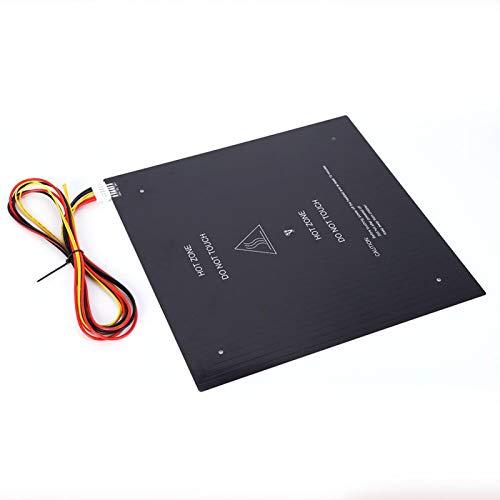 Plataforma de impresora 3D Hot Bed 310x310mm Sustrato de aluminio Accesorio de impresora 3D 24V 220W Cable Accesorios para máquina MKS para la serie MKS Gen para impresora 3D