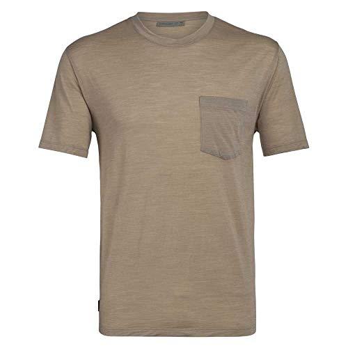 Preisvergleich Produktbild Icebreaker Herren Nature Dye Drayden T-Shirt,  Almond,  L
