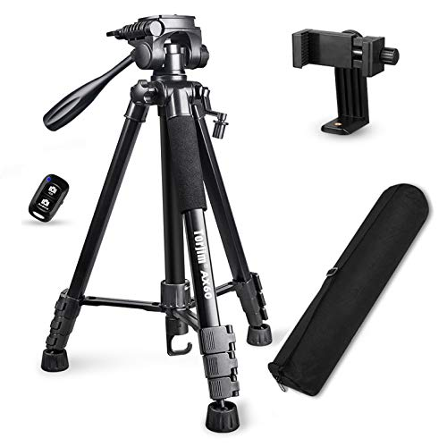 "Torjim 60"" Camera Tripod with Carry Bag"