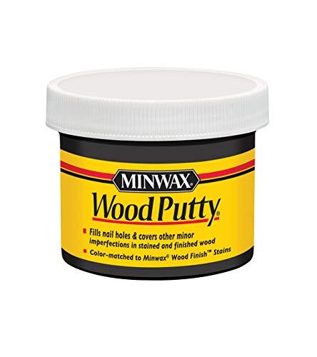 Minwax 13618000 Wood Putty, 3.75 oz, Ebony