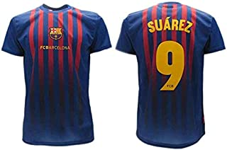 Camiseta Oficial Suarez Barcelona Home 2018 2019 en blíster Camiseta Barcelona niño Adulto 9 Luis El Pistolero
