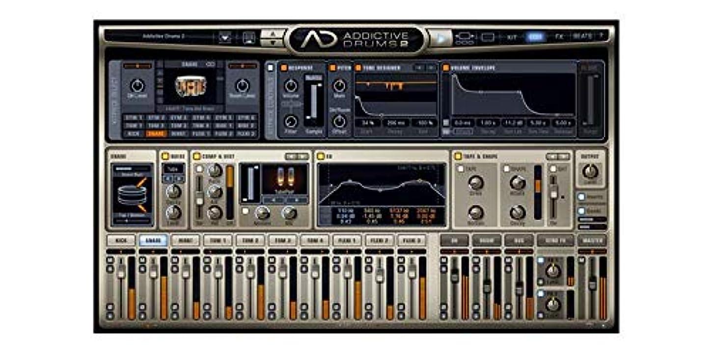 きゅうりスケッチ負【国内正規品】XLN Audio Addictive Drums 2 Custom XL ダウンロード版(シリアルナンバーのみ簡易パッケージ) ソフトウェアドラム音源