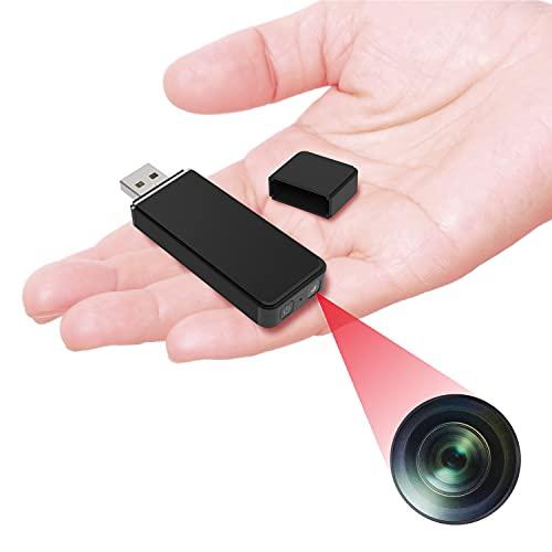 M@Q 小型カメラ 防犯カメラ USB型カメラ USBメモリー型カメラ 日本語取説 長時間 マイクロSDカード 録画 録音 軽量 24グラム コンパクト 防犯 ビデオ カメラ ボイスレコーダー MQ036