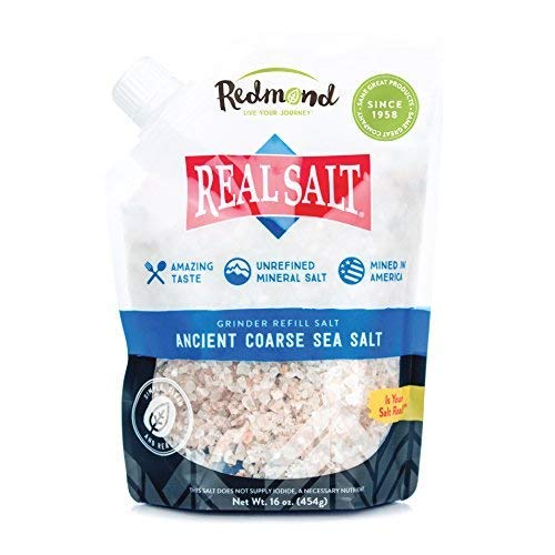 Redmond Real Salt- Nature's First Sea Salt- Coarse Salt