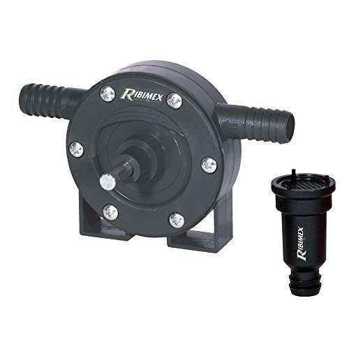 Ribimex PRPT251 Pompa per Trapano, 60 l/min, Nero, 9x8x14 cm