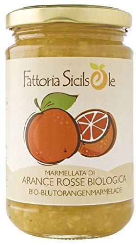 Fattoria Sicilsole Bio Blutorangen Marmelade (6 x 370 gr)