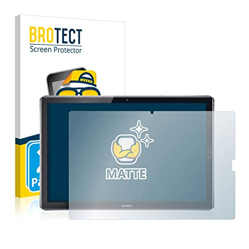 BROTECT 2X Entspiegelungs-Schutzfolie kompatibel mit Huawei MediaPad M5 10.8/10.8 Pro Bildschirmschutz-Folie Matt, Anti-Reflex, Anti-Fingerprint