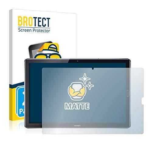BROTECT 2X Entspiegelungs-Schutzfolie kompatibel mit Huawei MediaPad M5 10.8/10.8 Pro Displayschutz-Folie Matt, Anti-Reflex, Anti-Fingerprint