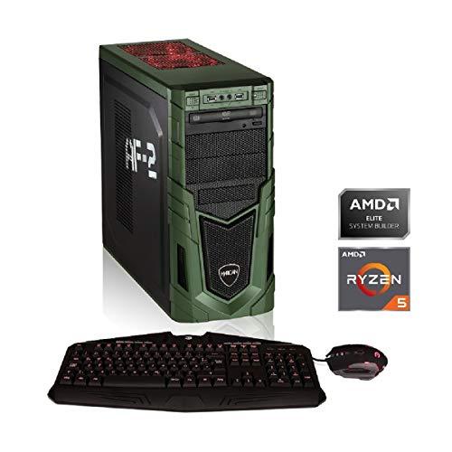 Hyrican Military Gaming 6399 Ryzen 5 3600 16GB/1TB 480GB SSD RTX 2070 SUPER W10