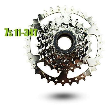 Shimano TZ500 7 Speed 14-34t Freewheel Thread-on Type 14-34 7 spd EMFTZ5007434