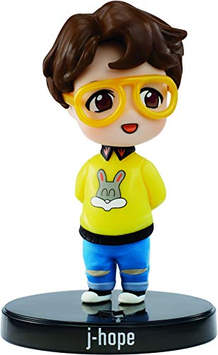 BTS x Mattel Mini-Figurine Vinyl J-Hope, à l'Effigie du Membre du Groupe de K-pop, Figurine Miniature à Collectionner, GKH79