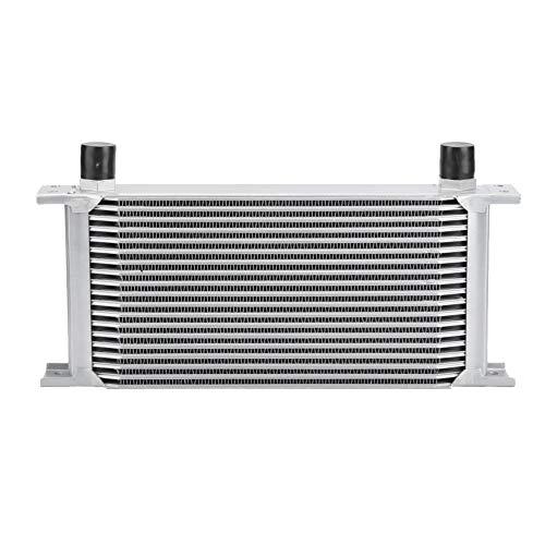 KSTE 19-Fila Tipo de Motor británica del Motor del refrigerador del Aceite de refrigeración del radiador Sistema de Plata