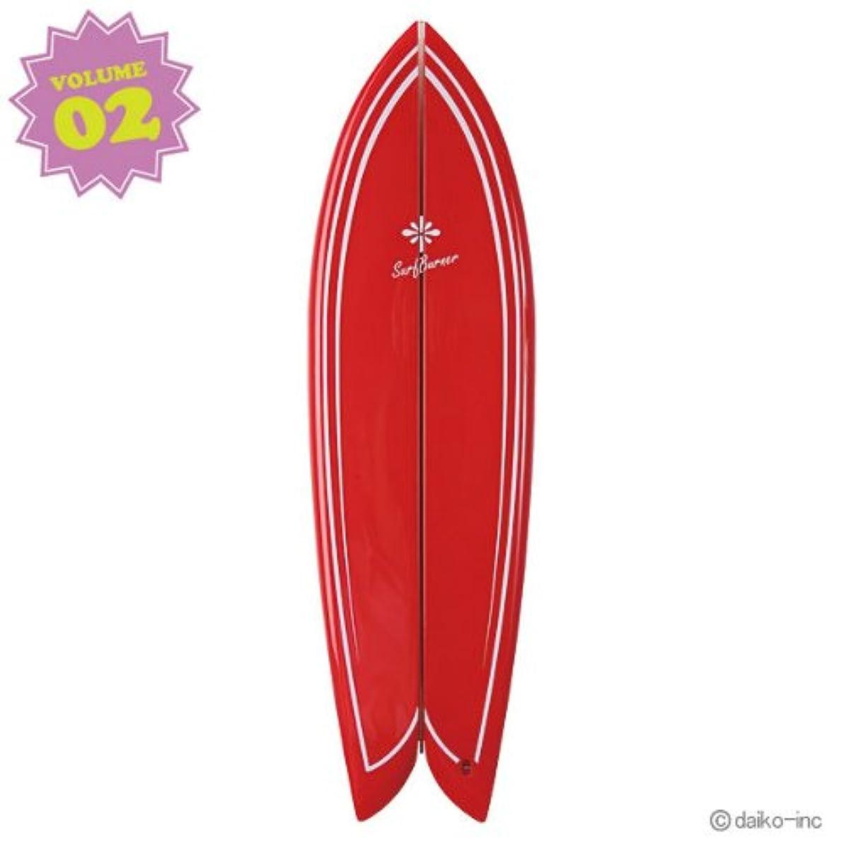 枝セーターシリング大香 SURF BURNER サーフバーナー RETRO FISH Jeffreys Bay Vol.2