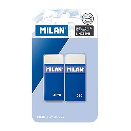 Milan BMM9232 - Pack de 2 gomas de borrar