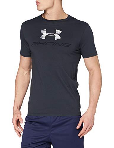 Under Armour Racing Pack Short Sleeve Camiseta de Manga Corta, Hombre, Negro (016), L