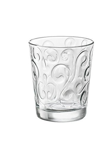 Bormioli Rocco Naos Water Glass, 10-Ounce, Set of 6 by Bormioli Rocco